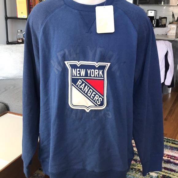 cheap for discount 7de15 925e6 CCM Men's NY Rangers (Hockey) Sweatshirt NWT